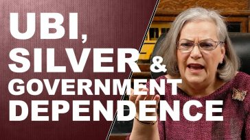 UBI, SILVER & GOVERNMENT DEPENDENCE…Q&A WITH LYNETTE ZANG